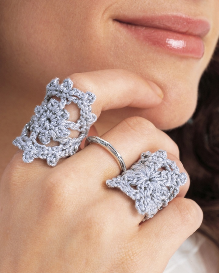 Crochet-Ring Stunning Crochet Patterns To Decorate Your Home & Make Accessories