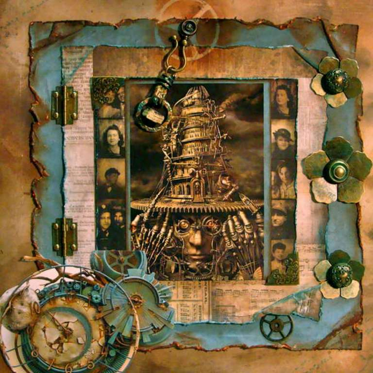 Distress-Ink-Broken-China-Project-2 Best 65 Scrapbooking Ideas to Start Creating Yours