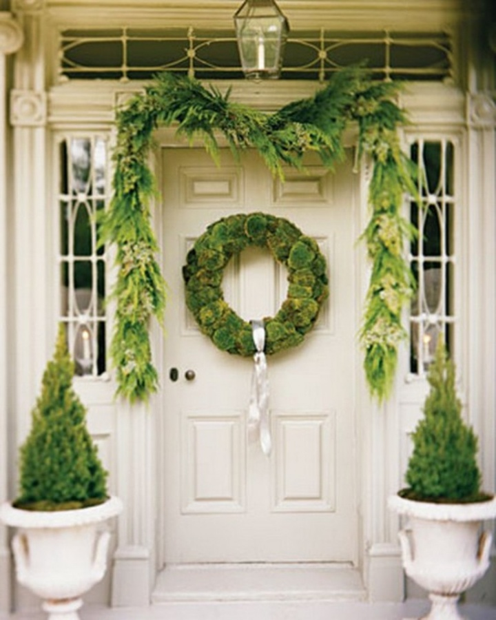Door-Decoration-Ideas-for-Christmas-2014-51 65+ Dazzling Christmas Decorating Ideas for Your Home in 2019