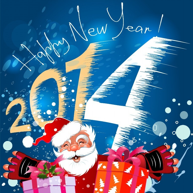 Free-Greetings-Cards.-Merry-Christmas-2014-Happy-New-Year-16 45+ Latest & Most Gorgeous Greeting Cards for a Happy New Year