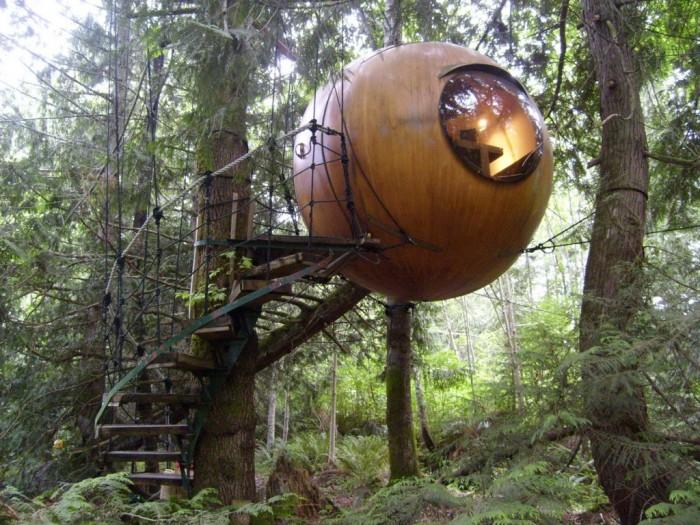 Free-Spirit-Spheres-4-1024x768 Top 30 World's Weirdest Hotels ... Never Seen Before!