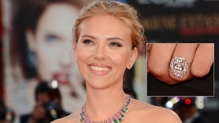 GTY_scarlett_johansson_ring_jef_130904_16x9_992 35+ Fascinating & Stunning Celebrities Engagement Rings for 2019