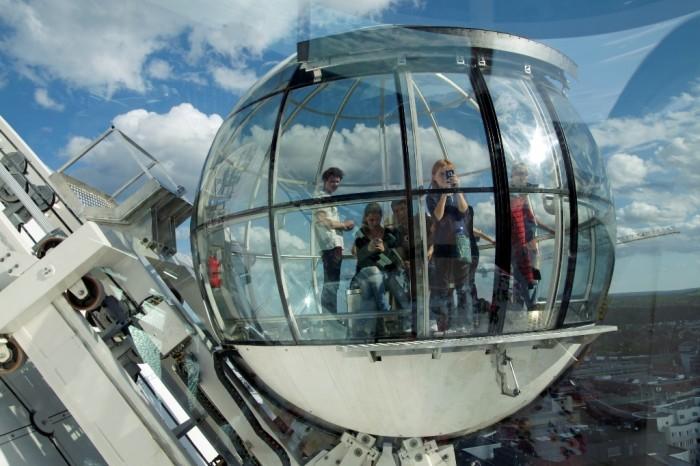 Globen_SkyView_15 The World's 20 Weirdest & Craziest Elevators