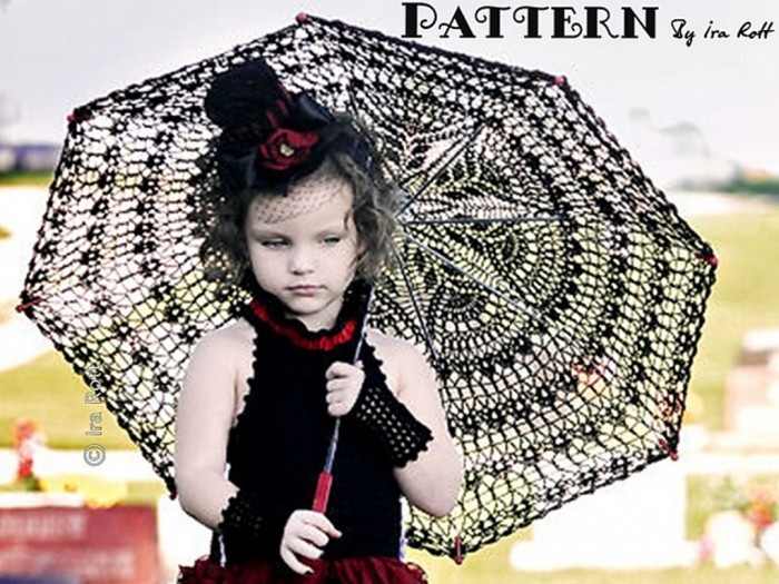 Gothic_Parasol_Crochet_Pattern_1 Stunning Crochet Patterns To Decorate Your Home & Make Accessories