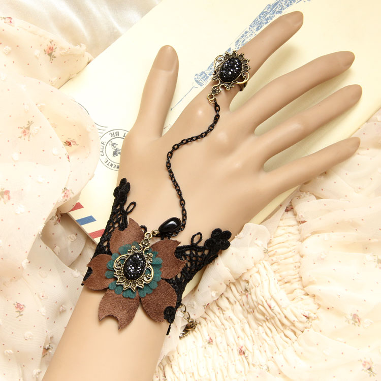 High-quality-Royal-accessories-vintage-lace-accessories-ring-font-b-band-b-font-bracelet-one-piece 65 Hottest Hand Back Jewelry Pieces for 2020