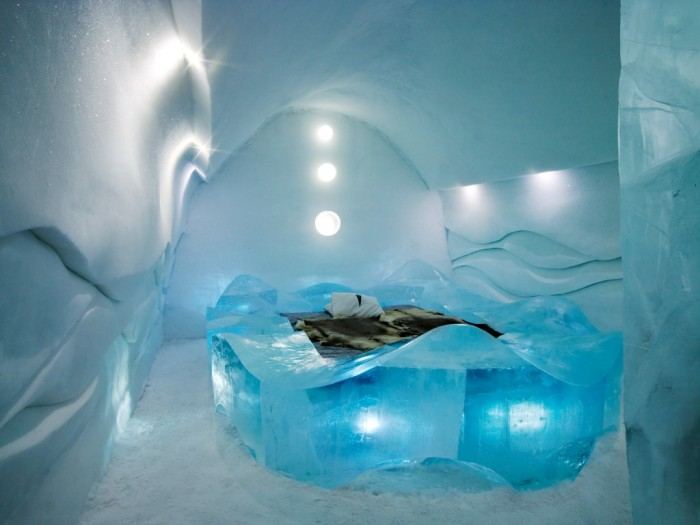 IceHotel-07 Top 30 World's Weirdest Hotels ... Never Seen Before!