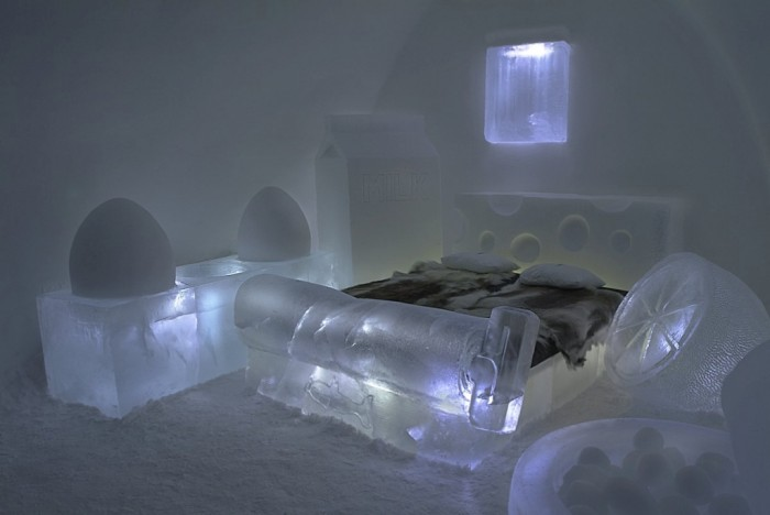Icehotel-4 Top 30 World's Weirdest Hotels ... Never Seen Before!
