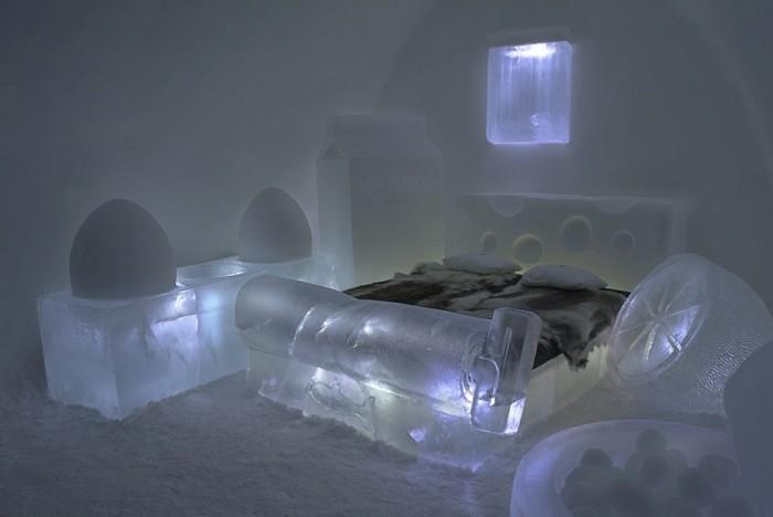 Icehotel-4 Top 30 World's Weirdest Hotels ... Never Seen Before!