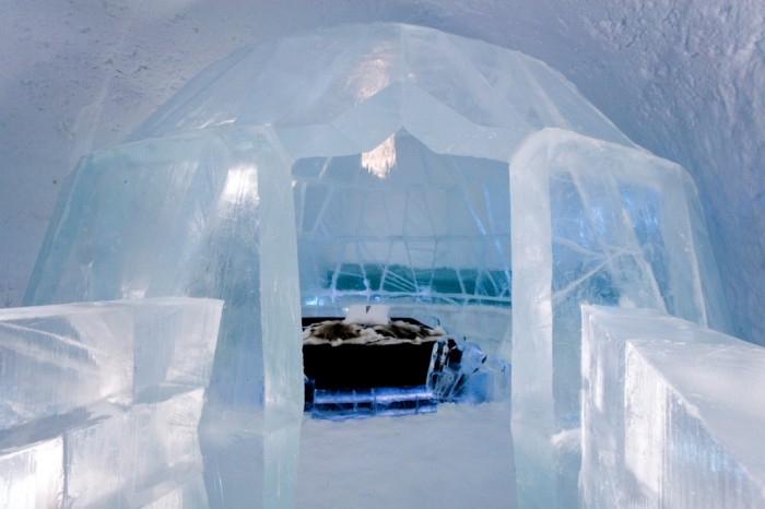 Icehotel-7 Top 30 World's Weirdest Hotels ... Never Seen Before!