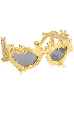 JSFLOURISHC1SUN-GLDZOOM1 39 Most Stylish Gold and Diamond Sunglasses in 2018