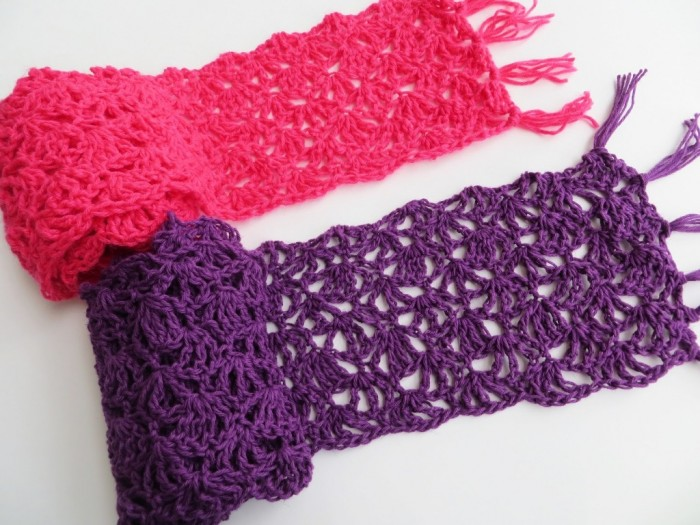 Lacy-Scarf-Crochet-Pattern 10 Fascinating Ideas to Create Crochet Patterns on Your Own