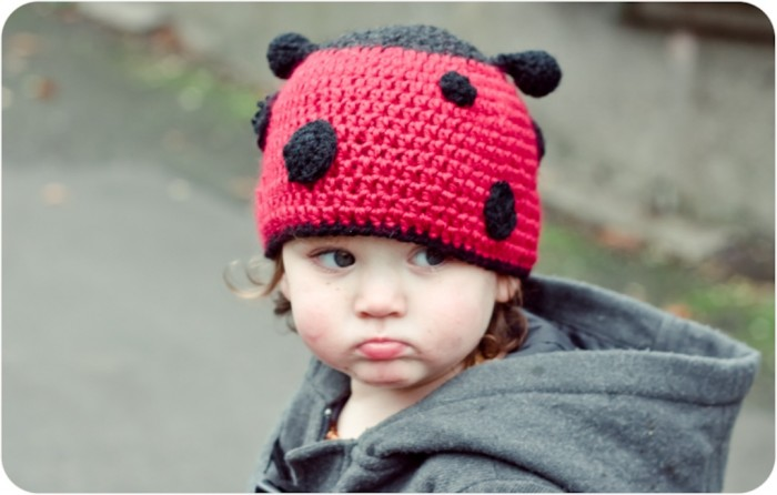 Ladybird-Hat-Crochet-Pattern-2 10 Fascinating Ideas to Create Crochet Patterns on Your Own
