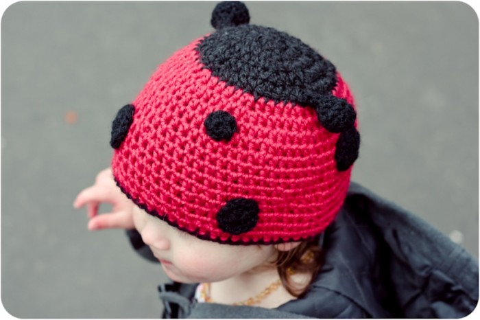 Ladybug-hat-crochet-pattern 10 Fascinating Ideas to Create Crochet Patterns on Your Own