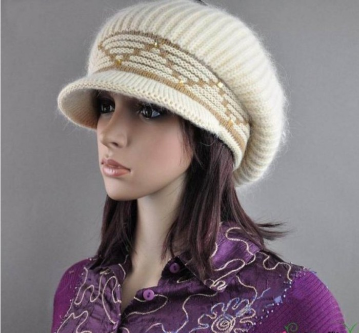 Latest-Trend-Women-Winter-Caps-Fashion-2012-2013-3 10 Fascinating Ideas to Create Crochet Patterns on Your Own
