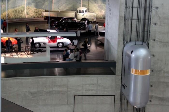 Mercedes-Benz-Museum-Elevator The World's 20 Weirdest & Craziest Elevators
