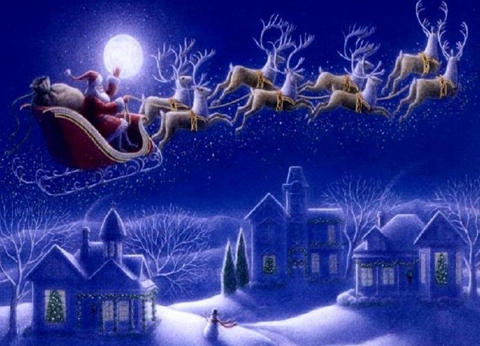Merry-Christmas-2014-Santa-Claus What Did Santa Claus Bring For You On Christmas Eve?