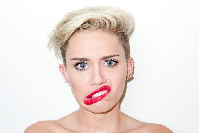Miley-Cyrus-Terry-Richardson-2013-11 20 Worst Celebrities Hairstyles