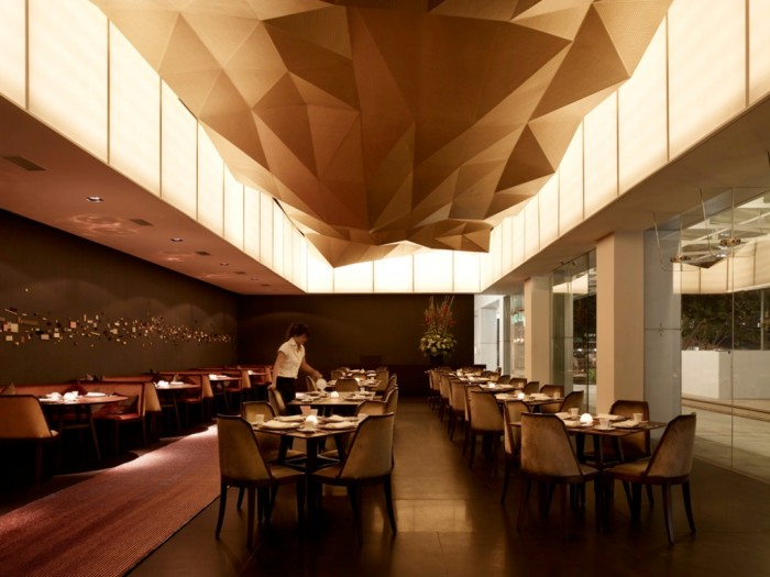 Modern-Restaurant-Interior-Design-with-Beautiful-Ceiling Do You Dream of Starting and Running Your Own Restaurant Business?