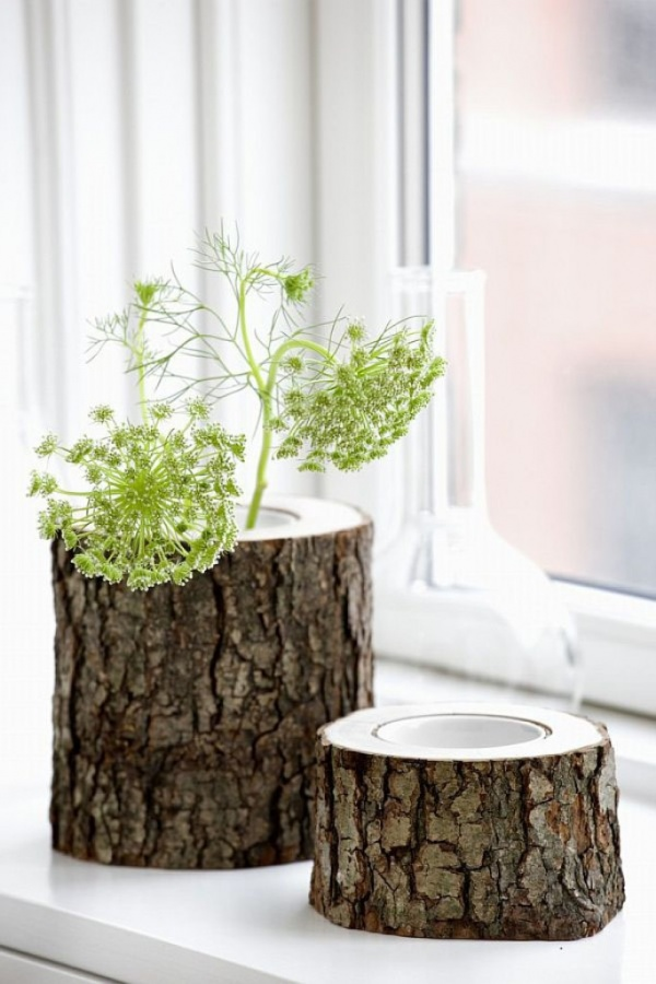 Modern-Tree-Trunks-uses-5 Did You Throw Your Christmas Tree? If It Is Not, Don't Do This