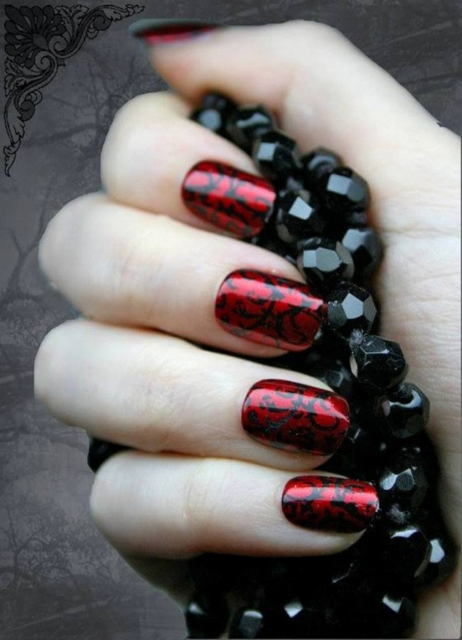 Nail-Art-Designs-ideas-new-techniques-2014-11 What Are the Latest Beauty Trends for 2014?