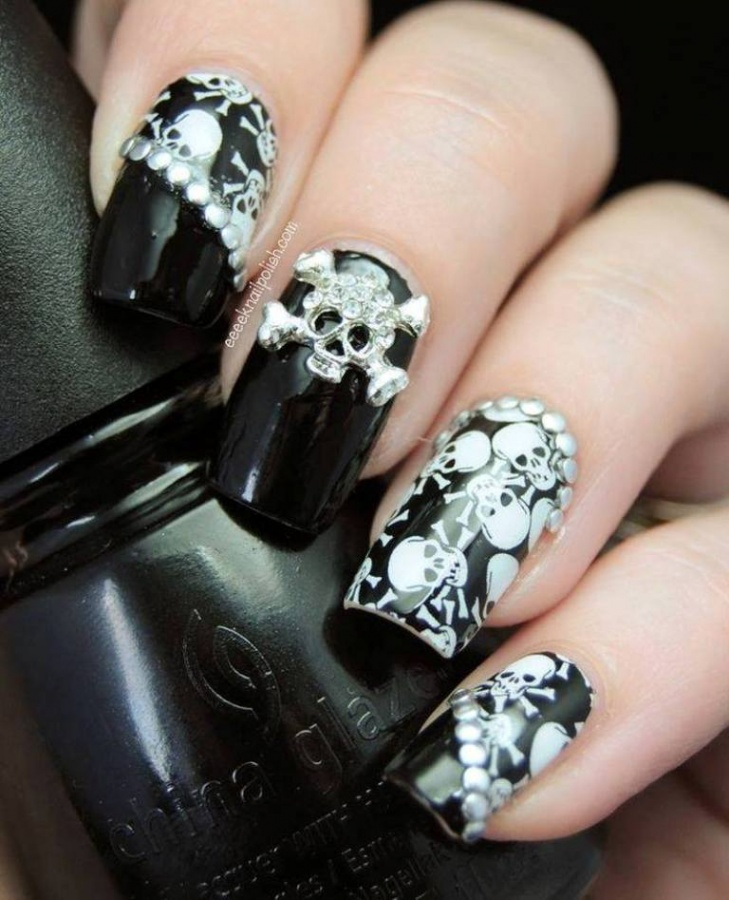 Nail-Art-Designs-ideas-new-techniques-2014-17 What Are the Latest Beauty Trends for 2017?