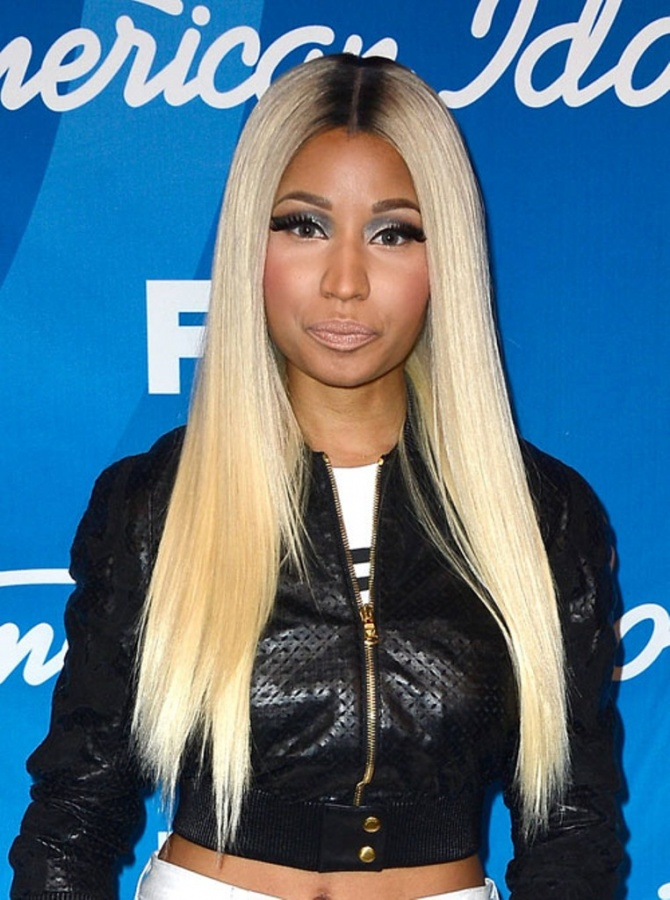 Nicki+Minaj+Fox+American+Idol+2013+Finale+90xF7bIWoXHx 20 Worst Celebrities Hairstyles