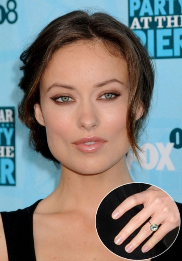 Olivia-Wilde 35+ Fascinating & Stunning Celebrities Engagement Rings for 2020
