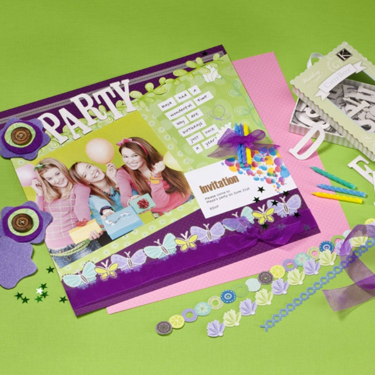 Party-Scrapbooking-Page-1476-600 Best 65 Scrapbooking Ideas to Start Creating Yours
