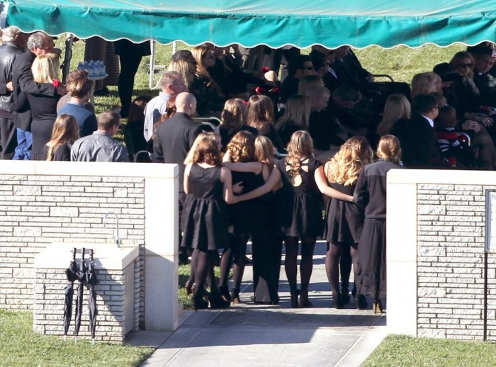 Paul Walker's private funeral in Los Angeles and the shocked family and friends