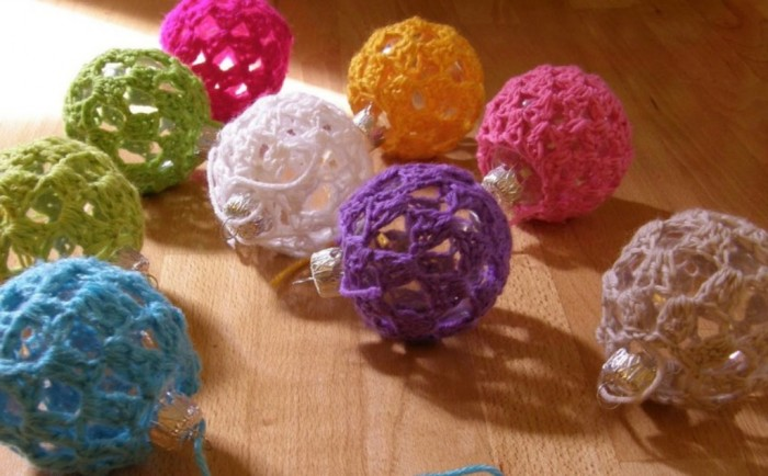 Pips-Colorful-Crocheted-Christmas-Baubles-DIY-Ornaments Stunning Crochet Patterns To Decorate Your Home & Make Accessories