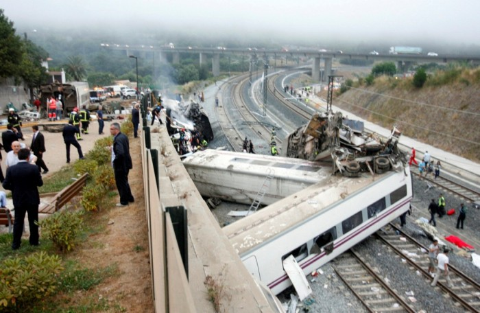 REU-SPAIN-TRAIN-13 What Are the Most Serious & Catastrophic Train Accidents in 2013?