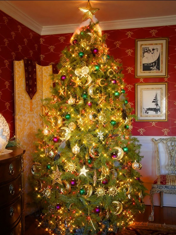 RMS_hampersnow-Christmas-tree_s3x4_lg 79 Amazing Christmas Tree Decorations