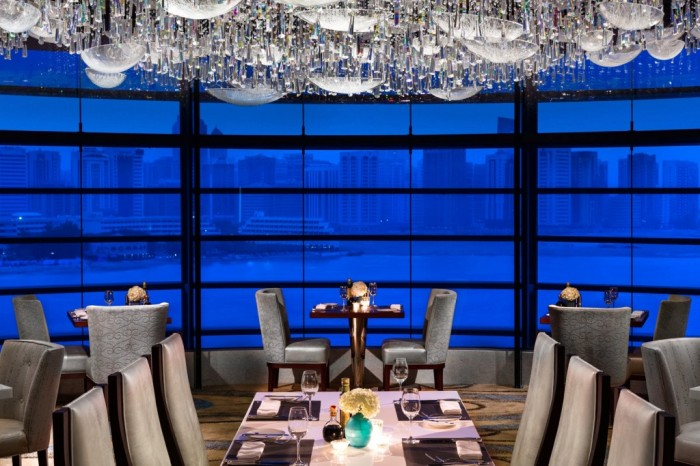 """Rosewood_Abu_Dhabi_Aqua_-_Dining_Room-passion4luxury """"Festival of Lights"""" Enchants the Hearts in the Galleria During the Holiday Season"""