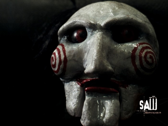 Saw-Wallpaper-horror-movies-8767334-1600-1200 20 Most Terrifying Masks in the World of Cinema