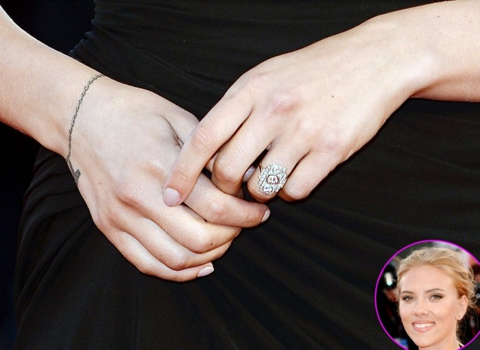 Scarlett-Johansson Celebrities with Fascinating & Stunning Engagement Rings in 2017 ... [UPDATED]