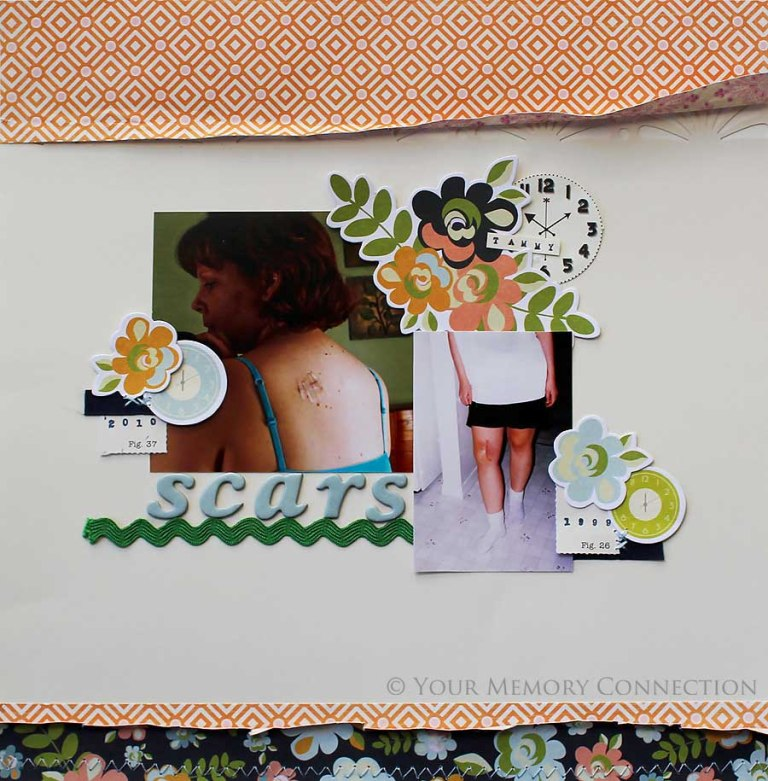 Scars-Collecting-Moments-Fancy-Pants Best 65 Scrapbooking Ideas to Start Creating Yours