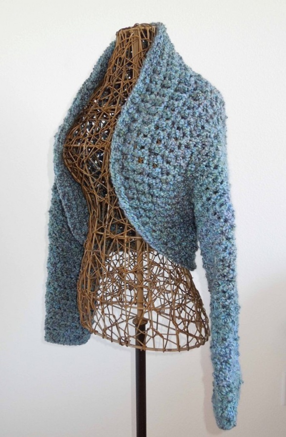Shrug2 10 Fascinating Ideas to Create Crochet Patterns on Your Own