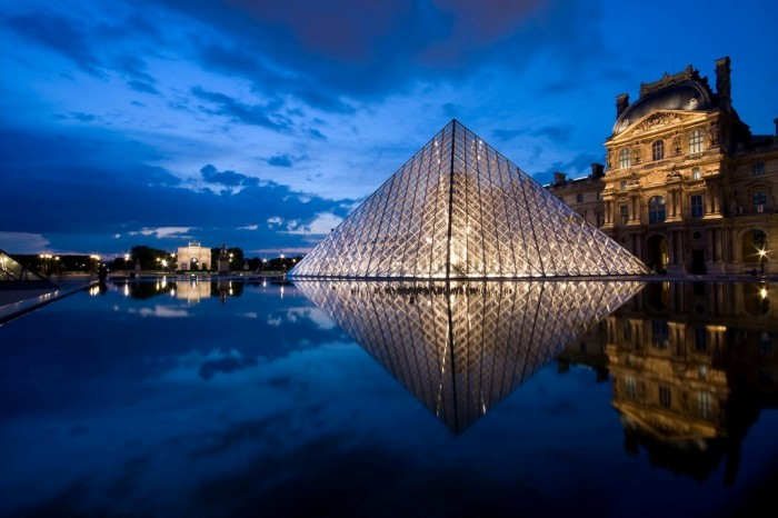The-Louvre-Pyramid4 The World's 20 Weirdest & Craziest Elevators