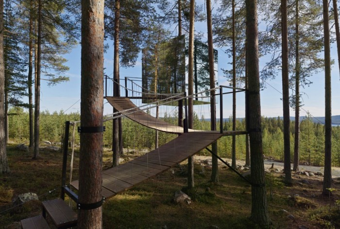The-Mirrorcube-in-Sweden-1024x692 Top 30 World's Weirdest Hotels ... Never Seen Before!