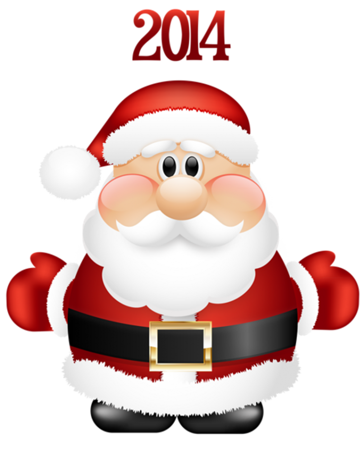 Transparent-Cute-Santa-Claus-2014-PNG-Clipart What Did Santa Claus Bring For You On Christmas Eve?