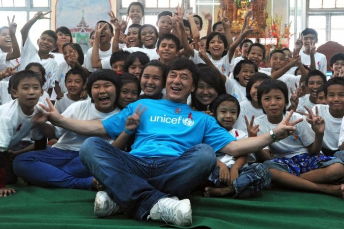 UNICEF-goodwill-ambassador-Jackie-Chan Who Are the Newest Goodwill Ambassadors of the Stars in 2013?