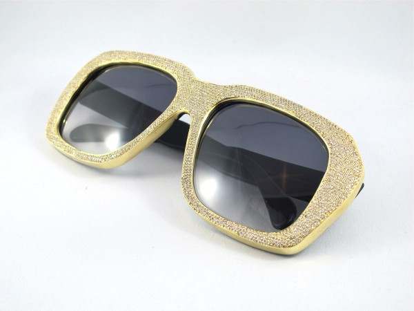 ccf26fc27fb0 39 Most Stylish Gold and Diamond Sunglasses in 2018 – Pouted Magazine