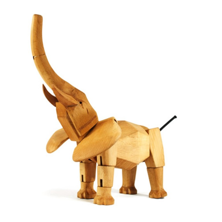 Unique-Wooden-Robot-Toys-for-Kids-and-Children-Design-Ideas-by-David-Weeks-Hattie-the-Elephant Do You Know How to Choose the Right Toys & Games for Your Child?