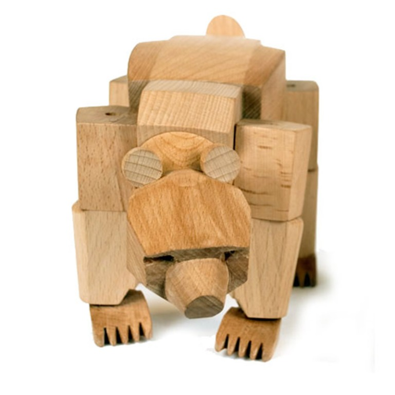 Unique-Wooden-Robot-Toys-for-Kids-and-Children-Design-Ideas-by-David-Weeks-Ursa-the-Bear Do You Know How to Choose the Right Toys & Games for Your Child?