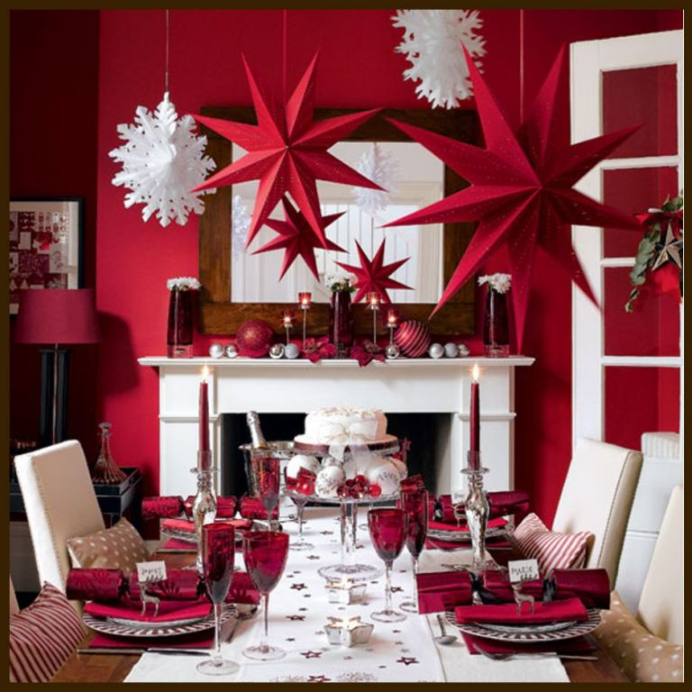Wallpaper. Dazzling Christmas Decorating Ideas for Your Home in 2017 ... [UPDATED]