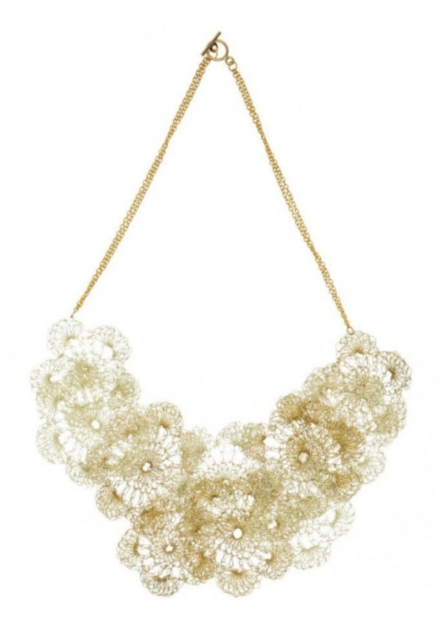 alessandra-stabili-crochet-jewelry-necklace-600x845 Stunning Crochet Patterns To Decorate Your Home & Make Accessories