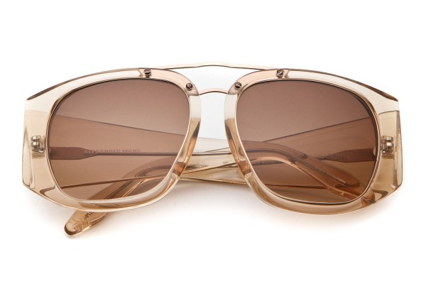 alexander_wang-_mink_fur_wire_sq_frame_sunglass_trans_peach1 39 Most Stylish Gold and Diamond Sunglasses in 2021