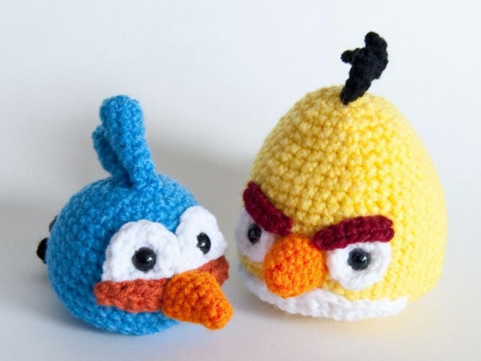 angry_birds_crochet_patterns_2 10 Fascinating Ideas to Create Crochet Patterns on Your Own