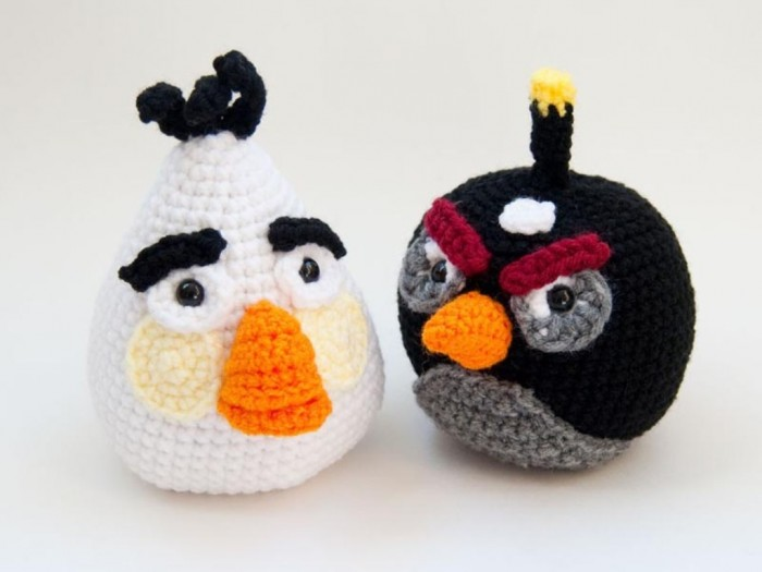 angry_birds_crochet_patterns_4 10 Fascinating Ideas to Create Crochet Patterns on Your Own