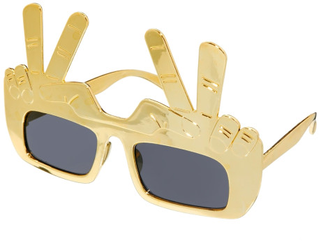 asos-gold-sunglasses-with-peace-sign-product-1-15379424-266289792_large_flex 39 Most Stylish Gold and Diamond Sunglasses in 2019